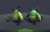 Treant Guard Mesh Tint Shop3DSA Unity3D Game Low Poly 3D Model Animation