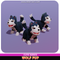 Wolf Pup Cute Meshtint 3d model unity low poly game fantasy creature monster dog husky