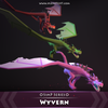 Wyvern SimP Series Mesh Tint Shop3DSA Unity3D Game Low Poly Download 3D Model