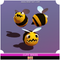 Bee Cute Series Mesh Tint Shop3DSA Unity3D Game Low Poly Download 3D Model