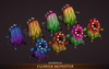 Fantasy Enemy Pack 1.8 Mesh Tint Shop3DSA Unity3D Game Low Poly Download 3D Model