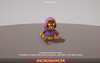 Fantasy Character Pack 01 1.5 Mesh Tint Shop3DSA Unity3D Game Low Poly Download 3D Model