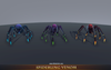 Spiderling Venom Mesh Tint Shop3DSA Unity3D Game Low Poly Download 3D Model