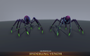 Dark Creatures Pack 1.3 Mesh Tint Shop3DSA Unity3D Game Low Poly Download 3D Model