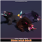 Toon Wild Boar 1.1 Mesh Tint Shop3DSA Unity3D Game Low Poly Download 3D Model