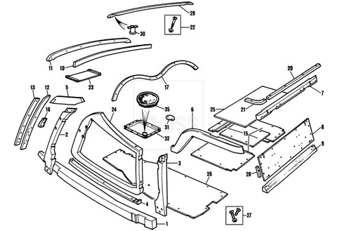 Mg Chassis Diagram