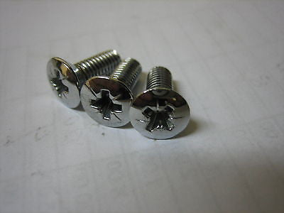 472-507 MGB CHROME GRILL TO BRACKET SCREW x3 - MG Sales & Service