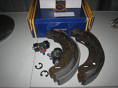 182-100K MG MGB REAR BRAKE KIT 2 CYL SET SHOES BRAND NEW - MG Sales & Service