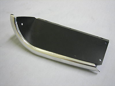 455-310 AHH9992 MG MGB FINISHER R/H SIDE BLACK GENUINE RECESSED GRILL RARE - MG Sales & Service - 1