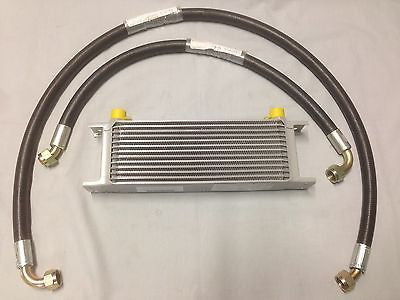 235-925K2 MG MGB 13 ROW OIL COOLER & HOSE KIT - LATER MODELS 68-74 - MG Sales & Service