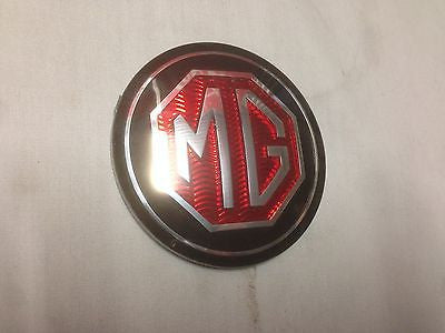 57H5593 MG MGB MGC CENTRE HORN PUSH BADGE - MG Sales & Service