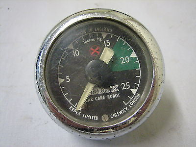 REDEX VINTAGE VACUUM GAUGE - MG Sales & Service - 1