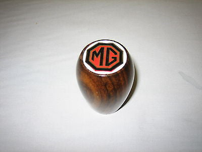 GAC4048 MG MGA MGB MGC GEAR LEVER KNOB WOODEN NEW - MG Sales & Service