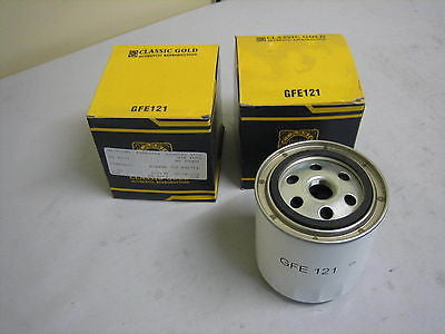 950-500 GFE121 MG MGB RV8 MGRVE ROVER SPIN ON OIL FILTER x2 BRAND NEW - MG Sales & Service