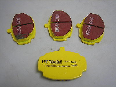 585-630Y MG MGB EBC YELLOWSTUFF BRAKE PADS - MG Sales & Service