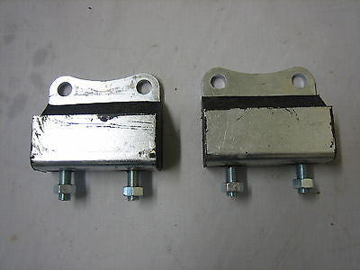 410-040 MG TB TC REAR GEARBOX MOUNTS - PAIR - MG Sales & Service