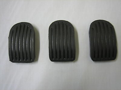 280-770 AHH5100 MG MGA MGB PEDAL PADS SET OF 3 BRAND NEW - MG Sales & Service - 1