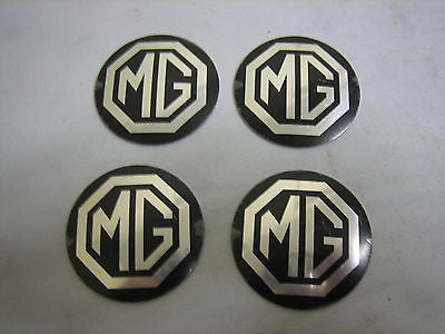 462-720 AHH9268B MG MGB ROSTYLE HUBCAP BADGE x4 - MG Sales & Service - 1