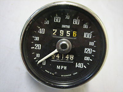 CSPEED MG MGC SPEEDO GAUGE - 140MPH USA SPEC - MG Sales & Service - 1