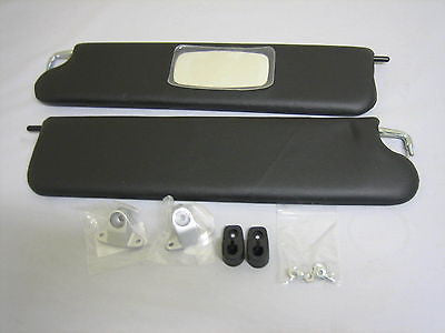 233-110 GAC4020 MG MGB SUN VISOR KIT NEW PAIR LH and RH - MG Sales & Service