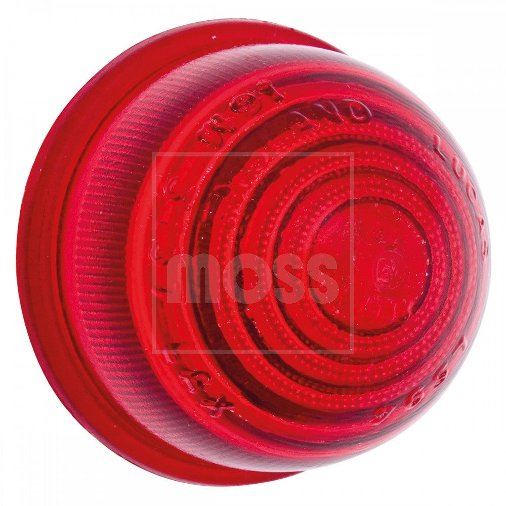 37H5531 RED GLASS REAR INDICATOR LENS