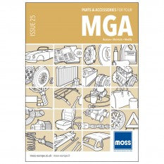 MG A CATALOGUE MOSS