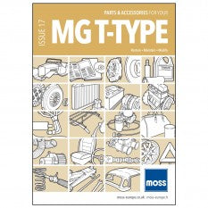 MG T TYPE CATALOGUE MOSS