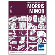 MORRIS MINOR CATALOGUE MOSS