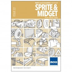 MG MIDGET SPRITE CATALOGUE MOSS
