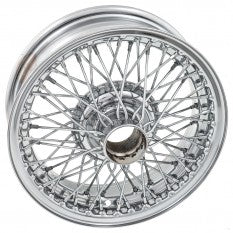 454-635 WWC515 MGB MG CHROME WIRE WHEEL
