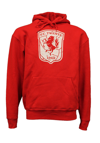 Hooded Sweater Rood - Junior