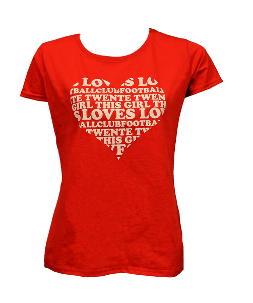 Dames T-shirt - Hart