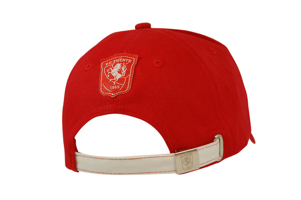 Cap totally red 3D borduring - FC Twente