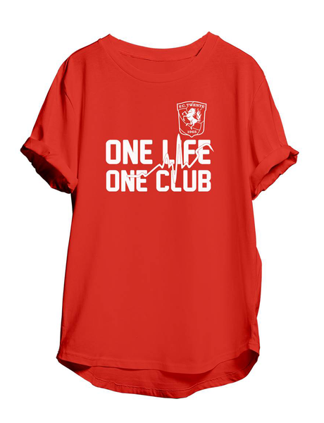 "T-shirt ""one life"""