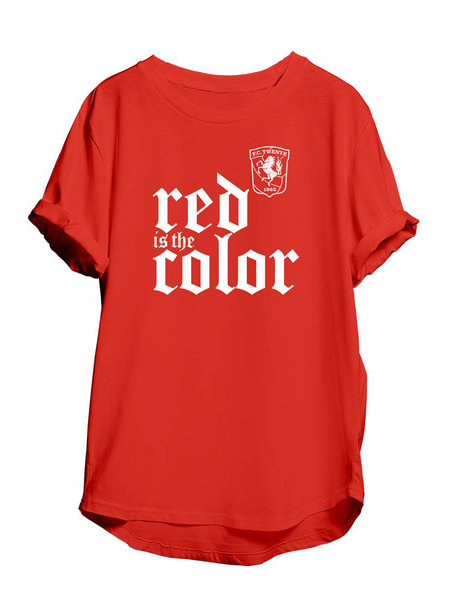 "T-shirt ""Red is the color"""