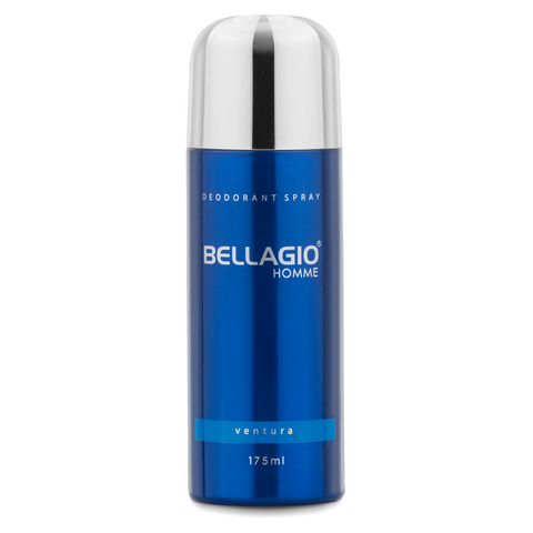 Bellagio Deodorant Spray Ventura (Blue, 175ml)