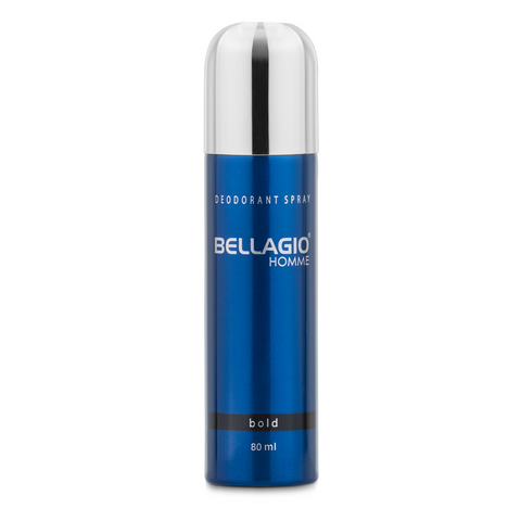 Bellagio Deodorant Spray Bold (Black, 80ml)