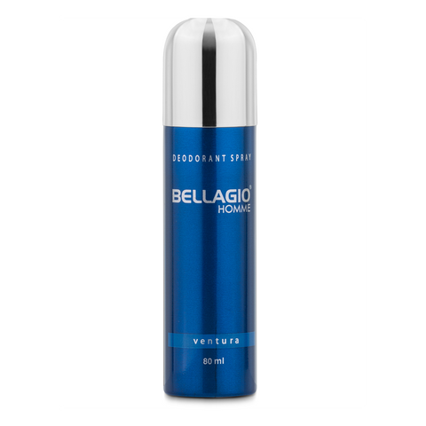 Bellagio Deodorant Spray Ventura (Blue, 80ml)