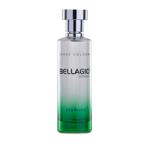 Bellagio Spray Cologne Stamina (Green, 100ml)