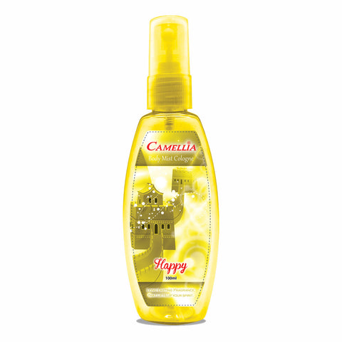 Camellia Body Mist Happy (Yellow, 100ml)