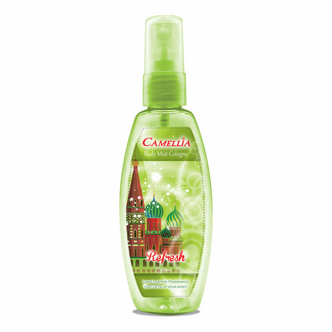 Camellia Body Mist Refresh (Green, 100ml)