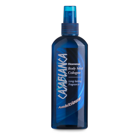 Casablanca Body Mist Ambitious (Dark Blue, 200ml)