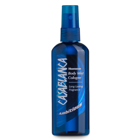 Casablanca Body Mist Ambitious (Dark Blue, 100ml)