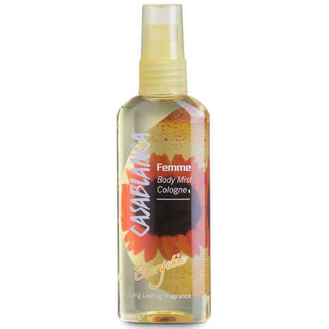 Casablanca Body Mist Energetic (Yellow, 100ml)