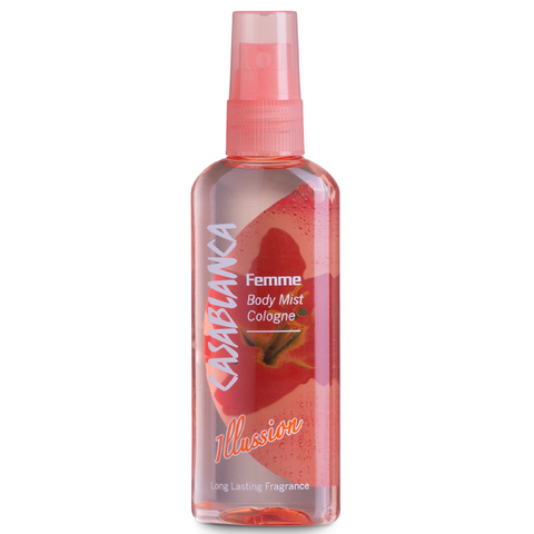 Casablanca Body Mist Illusion (Orange, 100ml)