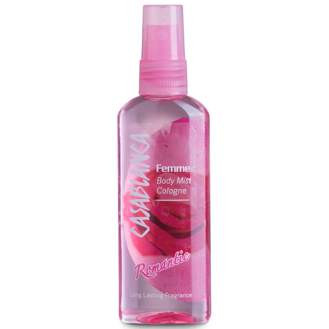 Casablanca Body Mist Romantic (Pink, 100ml)