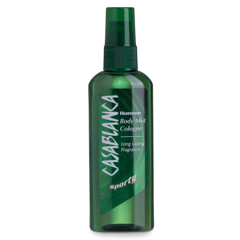 Casablanca Body Mist Sporty (Dark Green, 100ml)