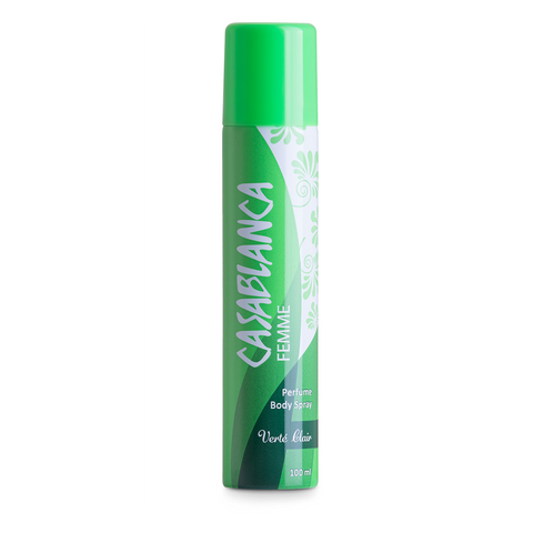 Casablanca Body Spray VertŽ Clair (Light Green, 100ml)