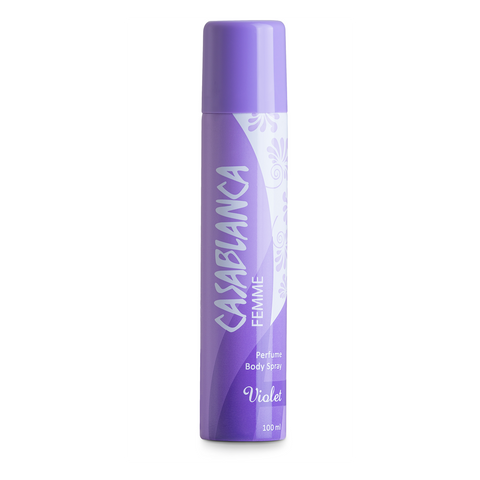 Casablanca Body Spray Violet (Violet, 100ml)