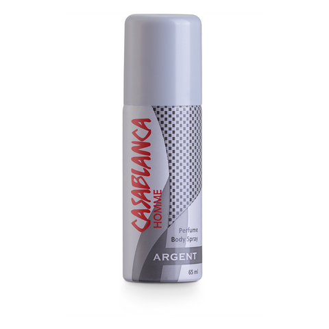 Casablanca Body Spray Argent (Silver, 65ml)